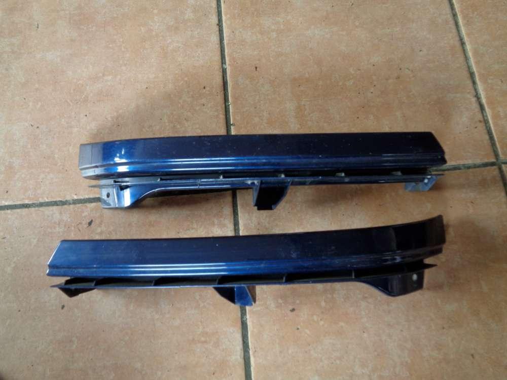 Opel Zafira A Scheinwerfer Stoßstange Blende 90580652 90580651 Farbcode Z282 Polarmeerblau