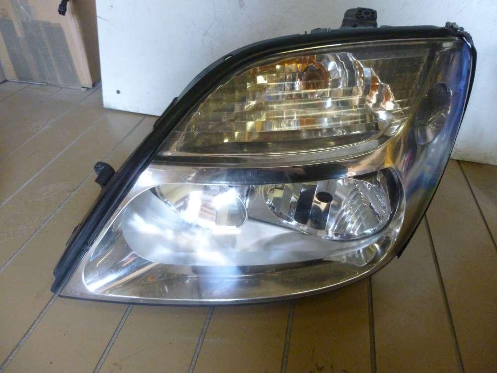 Renault Megane Scenic Scheinwerfer Frontscheinwerfer Links 7700432098 890029