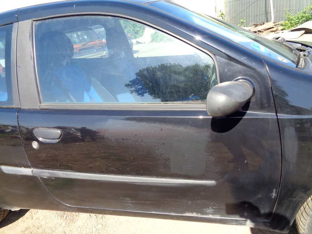 Fiat Punto 188 3-Türer Tür Vorne Rechts Schwarz Farbecod : 601
