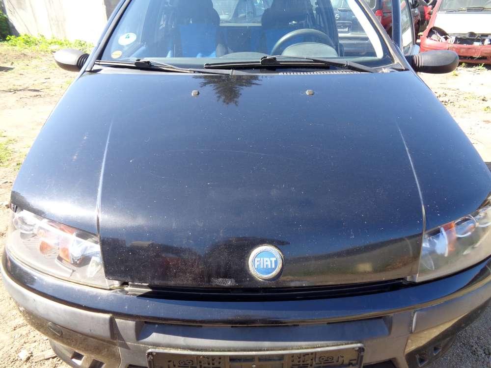 Fiat Punto 188 3-Türer Motorhaube Haube Schwarz Farbecod : 601