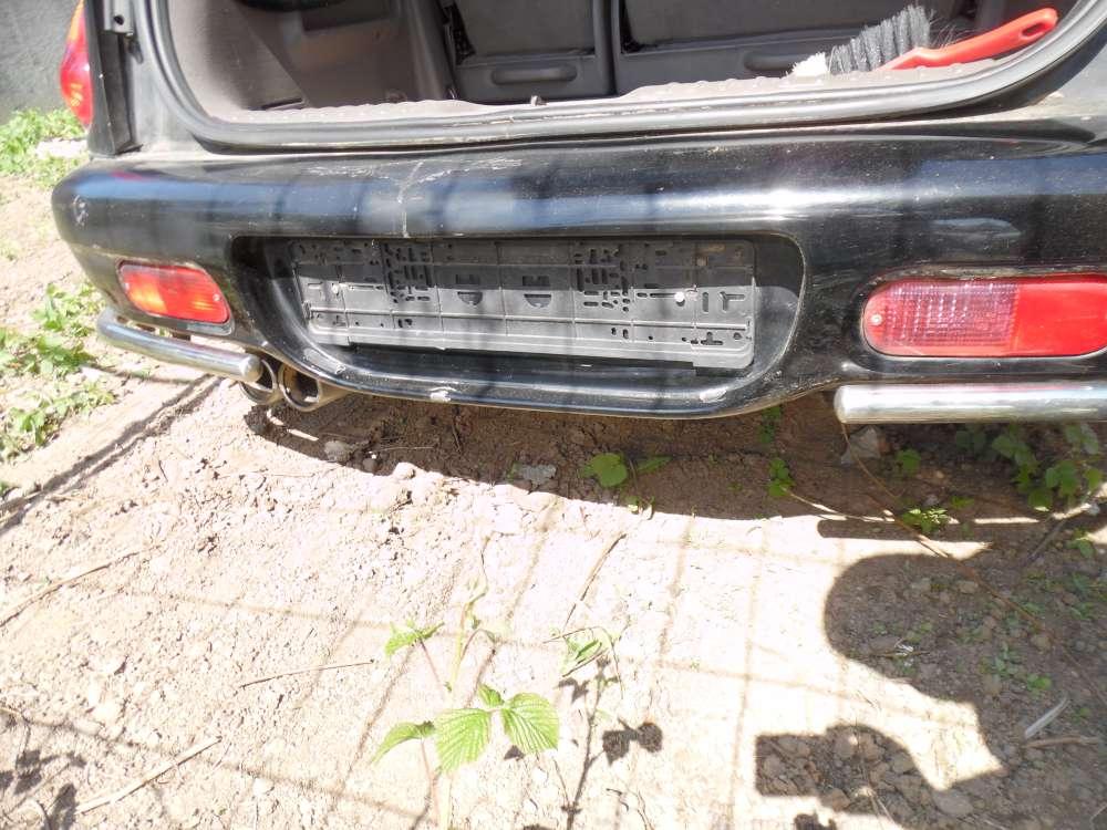 Chrysler PT-Cruiser Bj:2001 5Türer Stoßstange Hinten Farbe : schwarz