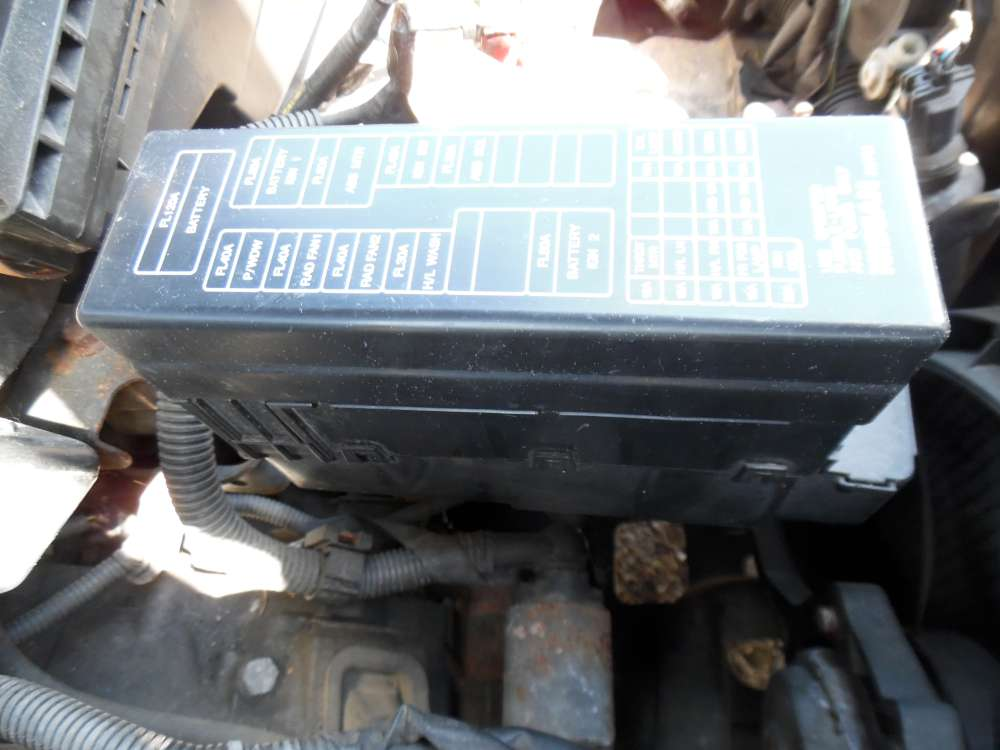 Nissan Primera P12 Kombi Bj:2003 Sicherungskasten