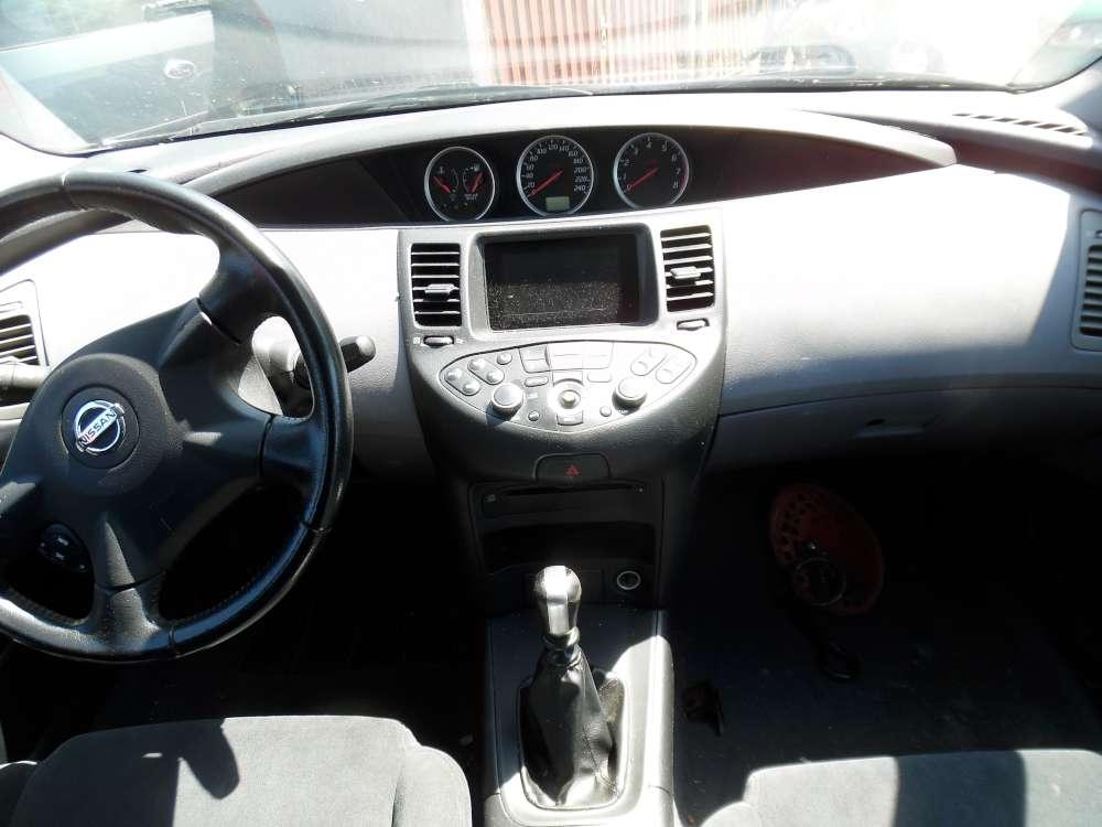 Nissan Primera P12 Kombi Bj:2003 Armaturenbrett Cockpit Ohne Einbauteile