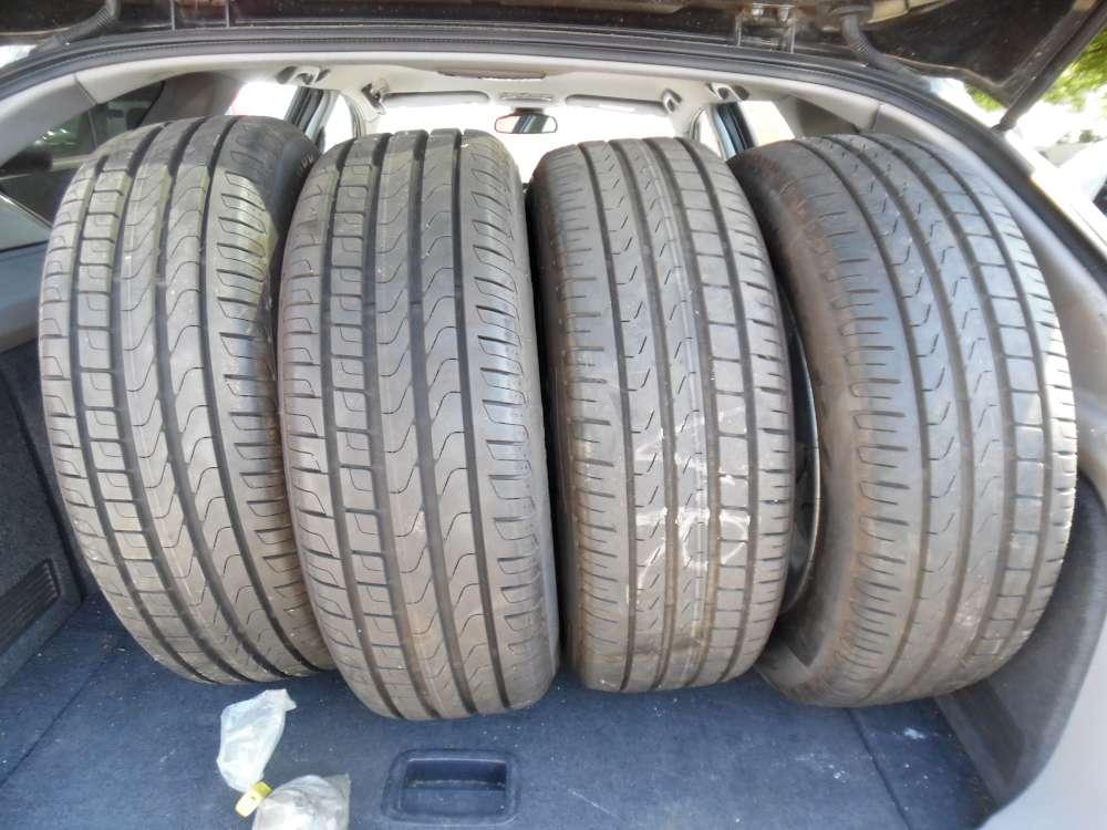 4 x Alufelgen mit Reifen Für Nissan Sommerreifen  Pirelli Cinturato P7 205/60 R16 92H  16x61/2J