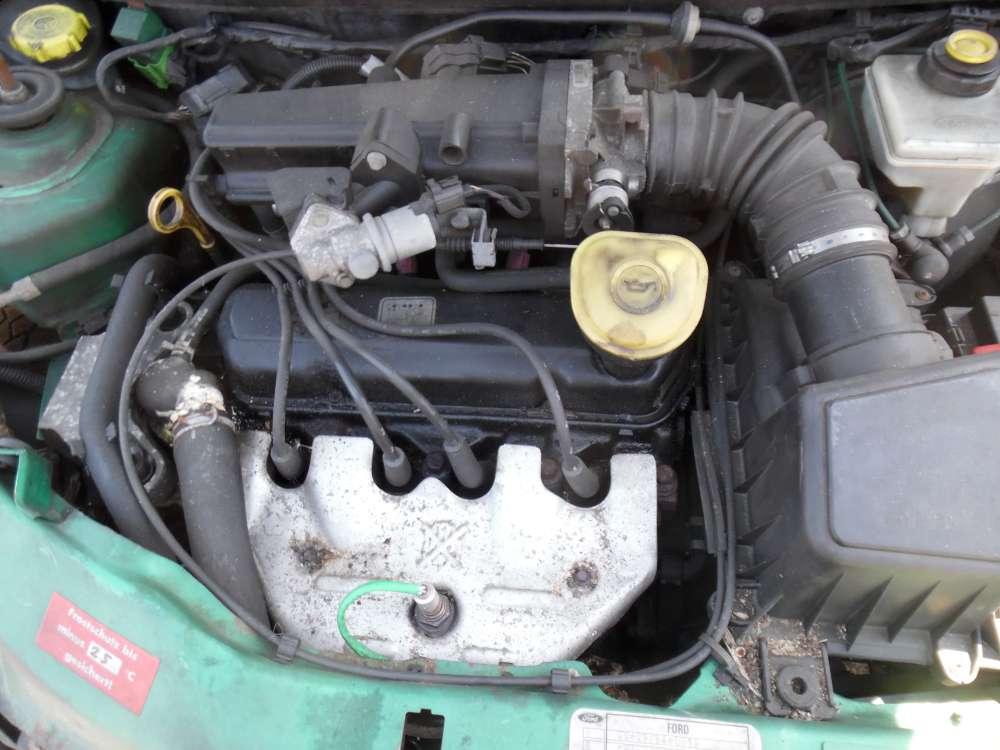 Ford Ka Bj:2000 3Türer Motor Benzin 53297KM Ohne Einbauteile.