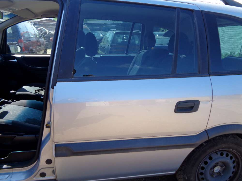 Opel Zafira A Tür Hinten Links Grau Farbcode : Z151