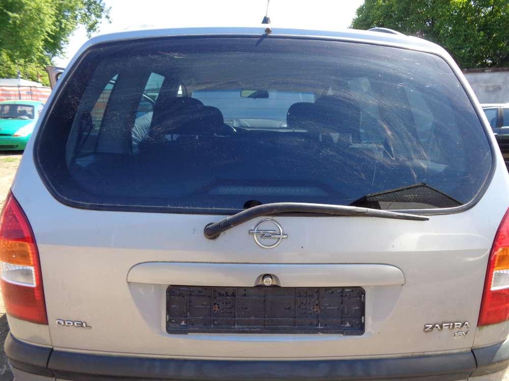 Opel Zafira A Heckklappe Heckdeckel Grau Farbcode : Z151