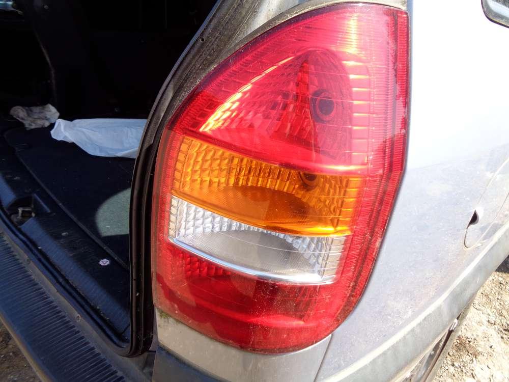Opel Zafira A Rückleuchte Rechts