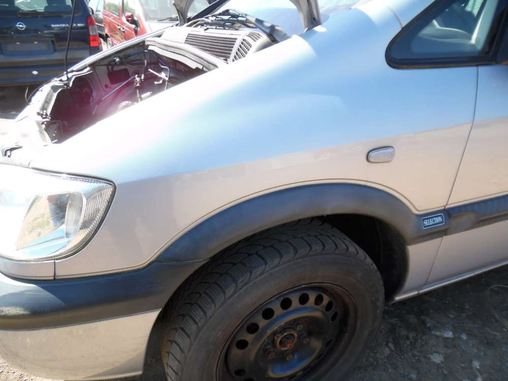 Opel Zafira A Bj:2001 Kotflügel Vorne Links Grau Z151