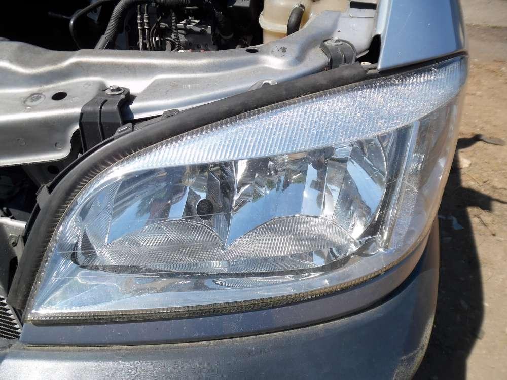 Opel Zafira A Bj:2001 Scheinwerfer Vorne Links