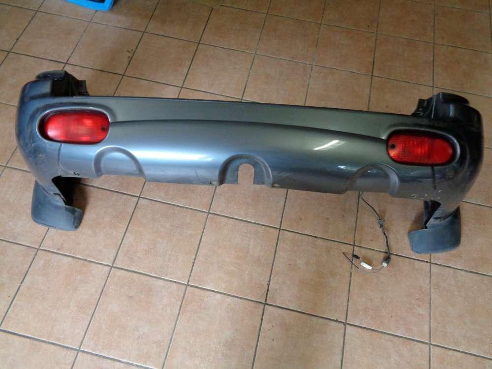 Hyundai Santa Fe SM Stossfaenger Stoßstange Hinten Schwarz
