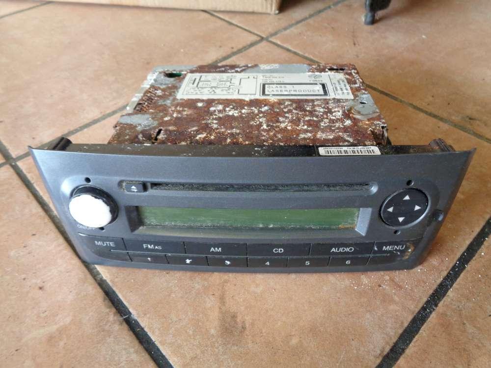 Fiat Grande Punto 199 Bj:2006 Autoradio CD Radio Blaupunkt 7646328316