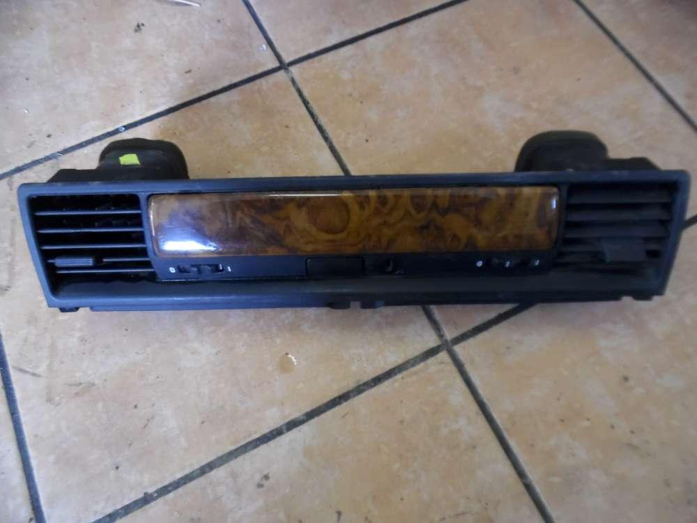 BMW E36 3er Handschuhfach Blende Grill Holz Luftkanal 8162022
