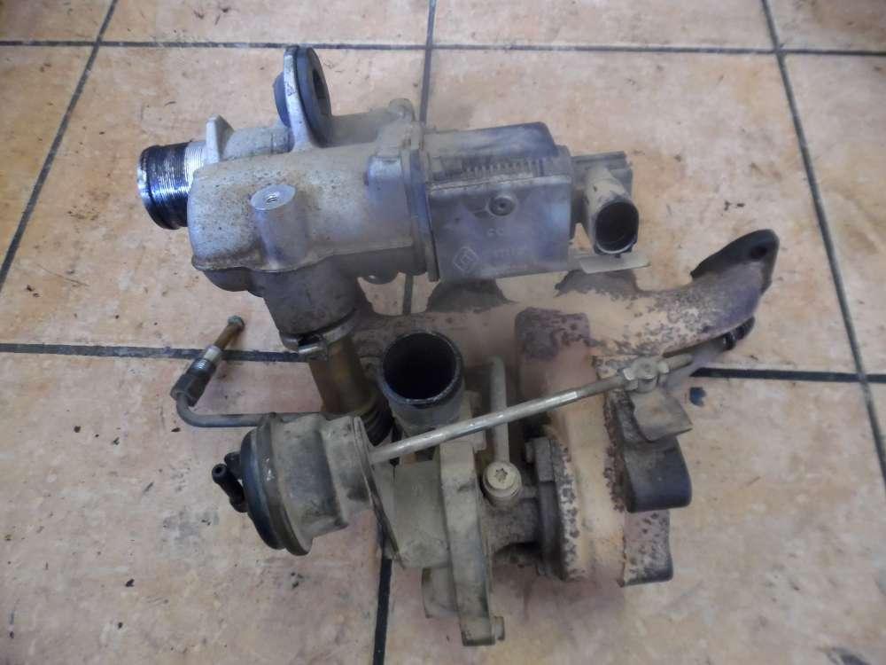 Renault Kangoo KC Turbolader mit Krümmer 54391015080
