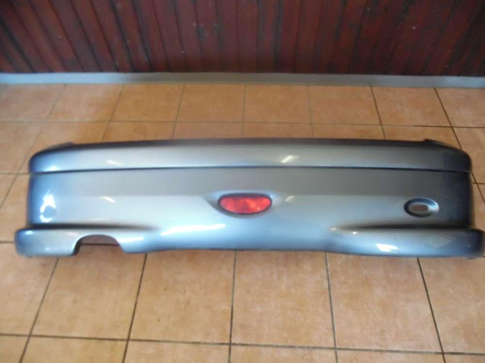 Peugeot 206 Stoßstange Heckschürze Hinten 9625077877 Grau Farbcode : KTH