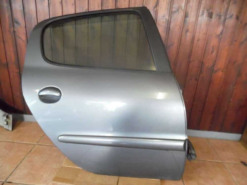 Peugeot 206 5-Türer Tür Hinten Rechts Grau Farbcode : KTH