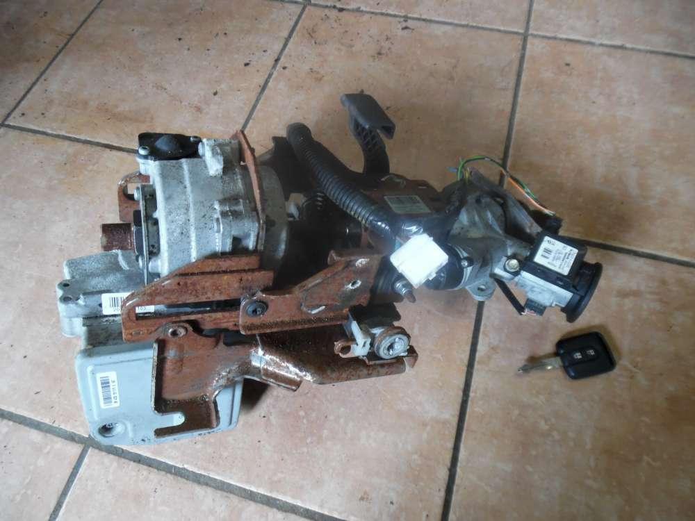 Nissan Micra K12 Bj:2007 Lenksäule elektrisch Zündschloss mit Schlüss TRW PT 50410263