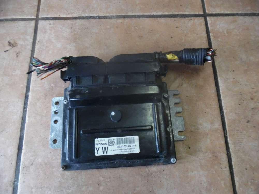 Nissan Micra K12 Bj:2007 Motorsteuergerät MEC37-320 G2 7805