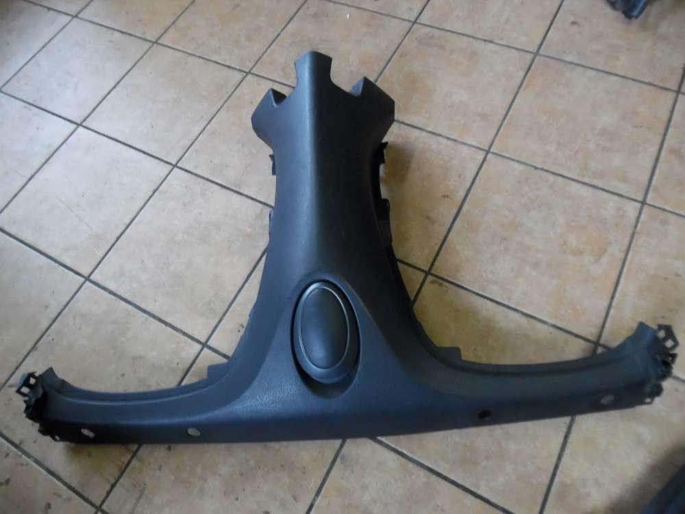 Peugeot 206 Cabrio Bj:2003 Verkleidung Rücksitzbank Mitte 9641506477