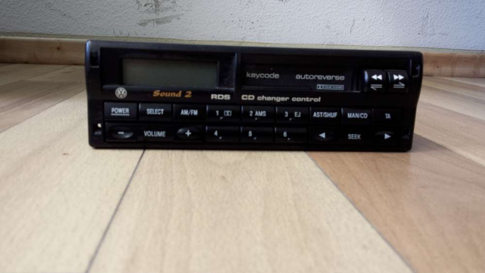 Radio für VW Sound 2 RDS VWZ7Z3 (Ford 2007) original Beta Autoradio 7M0 035 152R