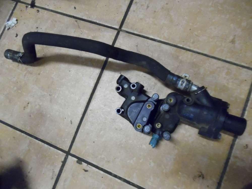 Peugeot 206 Cabrio Bj:2003 Thermostatgehäuse mit Schlauch 9654775080