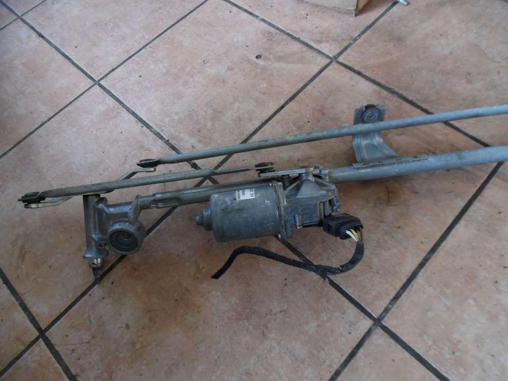 Opel Zafira B Wischermotor mit Wischergestänge Valeo 404976 179084