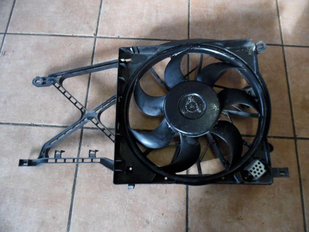 Opel Zafira B Bj:2007 Elektrolüfter mit Gehäuse 13205947  0130303314