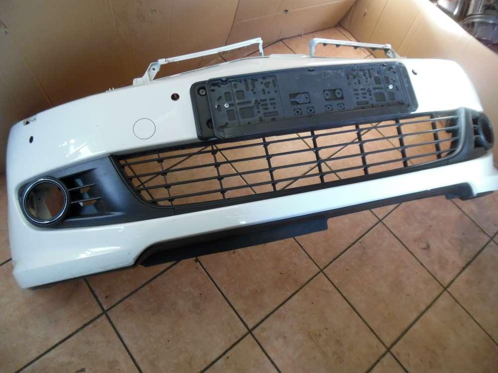 VW Golf 6 VI ab:2009 Original Stoßstange Vorne Weiß 5K0807221 mit Waschwasserpumpe 3B7955681