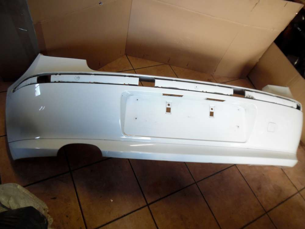 BMW 1er E87 ab-2004 Original Stoßfänger Hinten Weiß