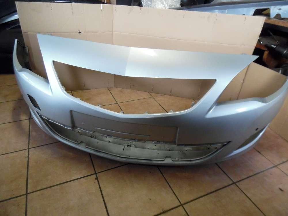 Opel Astra J Original ab 2009-2012 Stoßstange Vorne Silber 13264403