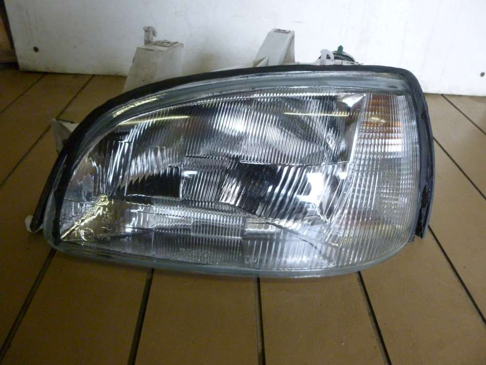 Renault Clio 1 Scheinwerfer Links Valeo mit Stellmotor 7700845786 F7700415607