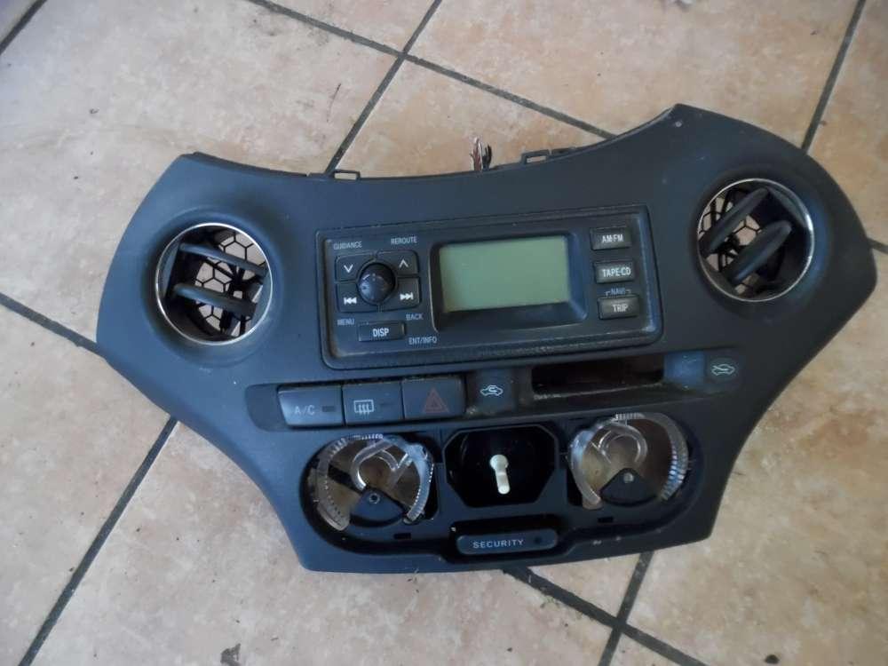 Toyota Yaris P1 Konsole Radio 86110-52140 759197-0010