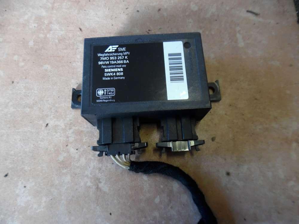 Ford Galaxy Steuergerät Wegfahrsperre 7M0953257K