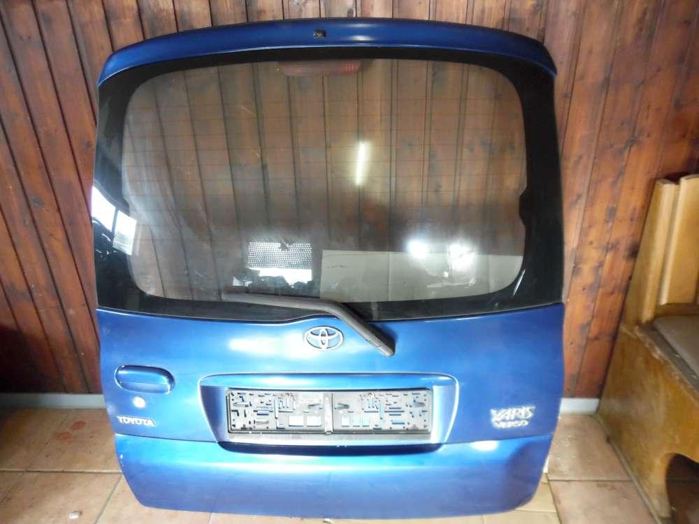 Toyota Yaris Verso Bj:2004 Heckklappe Tür Hinten Blau