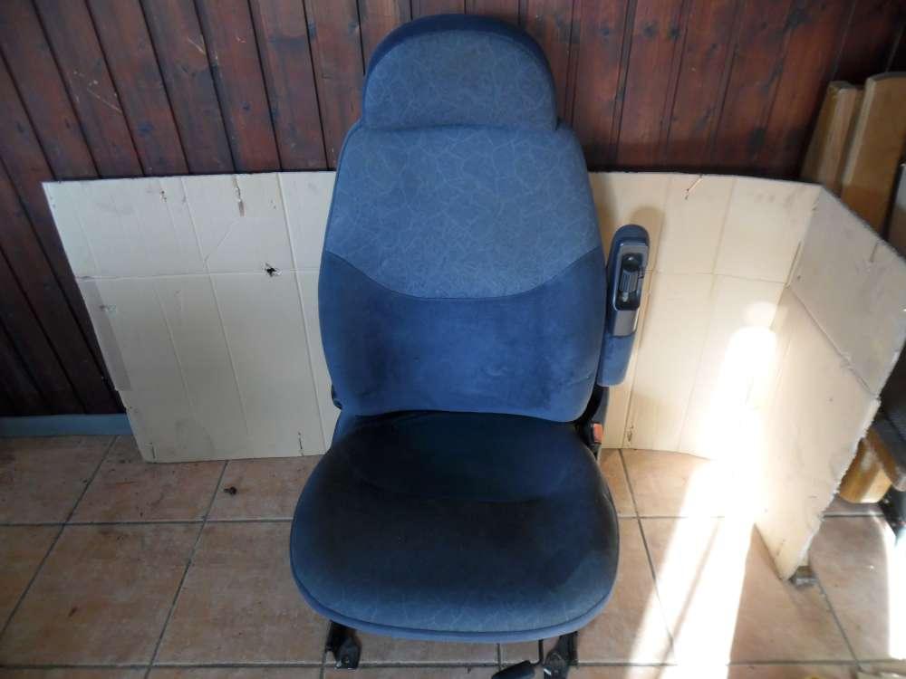 Ford Galaxy Beifahrersitz Sitz Vorne Rechts Stoff Dunkelblau