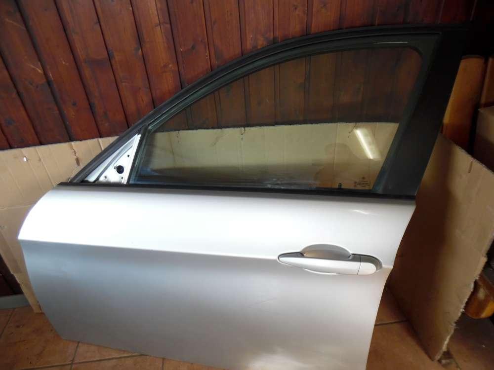 BMW 3er E90 E91 Fahrertür Tür Vorne Links Silber