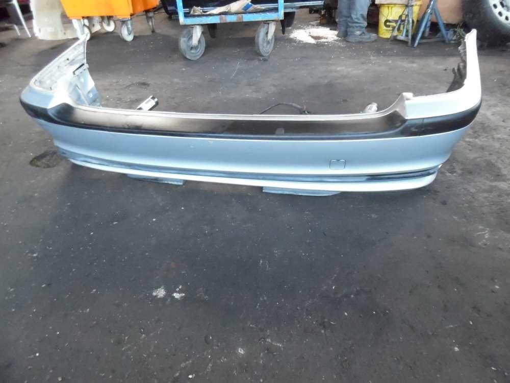BMW 318i E46 Bj:2000 Stoßstange Stoßstangenträger mit Pralldämpfer Hinten 8195314