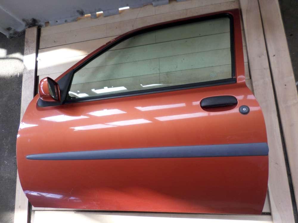 Ford Fiesta Bj 1997 3-Türen Fahrertür Tür vorne links Farbcode: W2 Orange