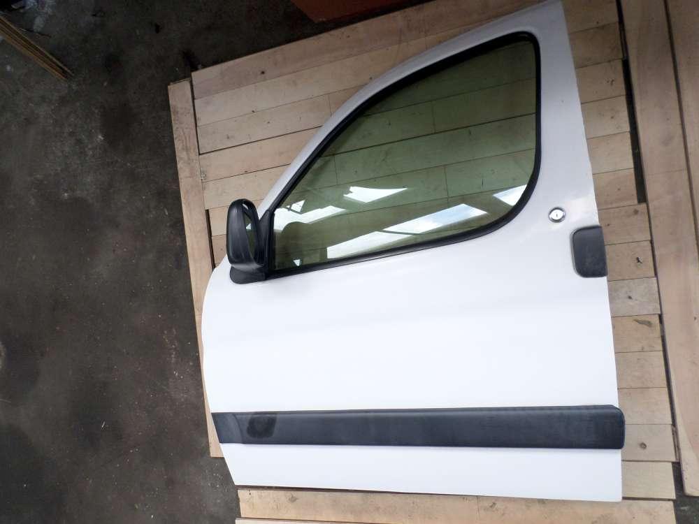 Peugeot Partner Bj 2001 Tür Fahrertür vorne links Farbe: Weiß