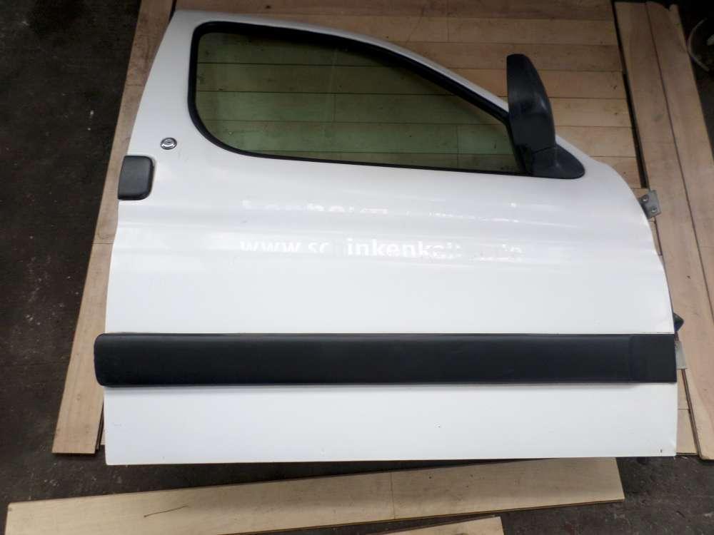 Peugeot Partner Bj 2001 Beifahrertür Tür Vorne Rechts Farbe: Weiß