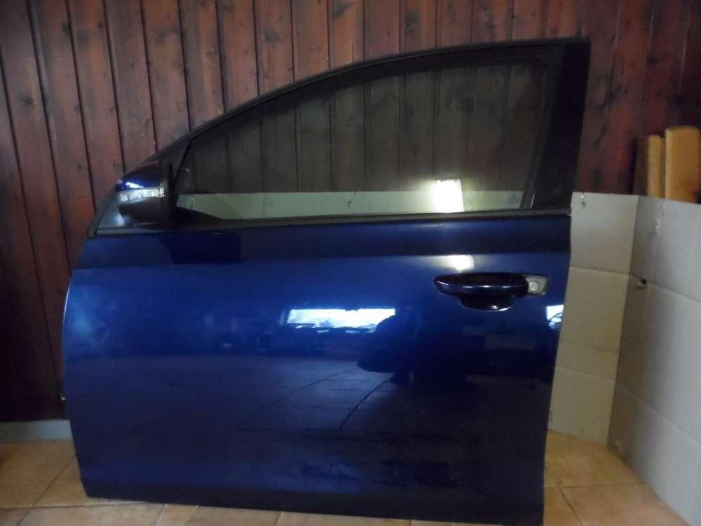 VW Golf 6 Tür Vorne Links Blue Metallic : LD5Q