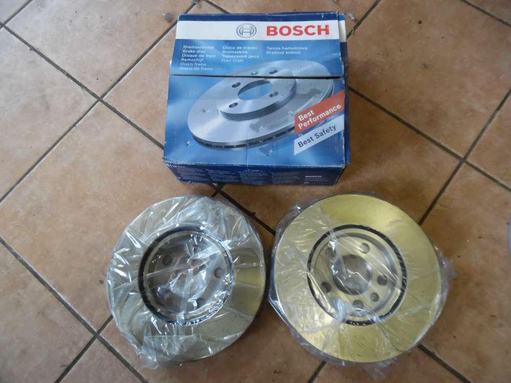 BOSCH Original 2x Bremsscheibe Bremsscheiben Vorderachse Vorne 0986478896