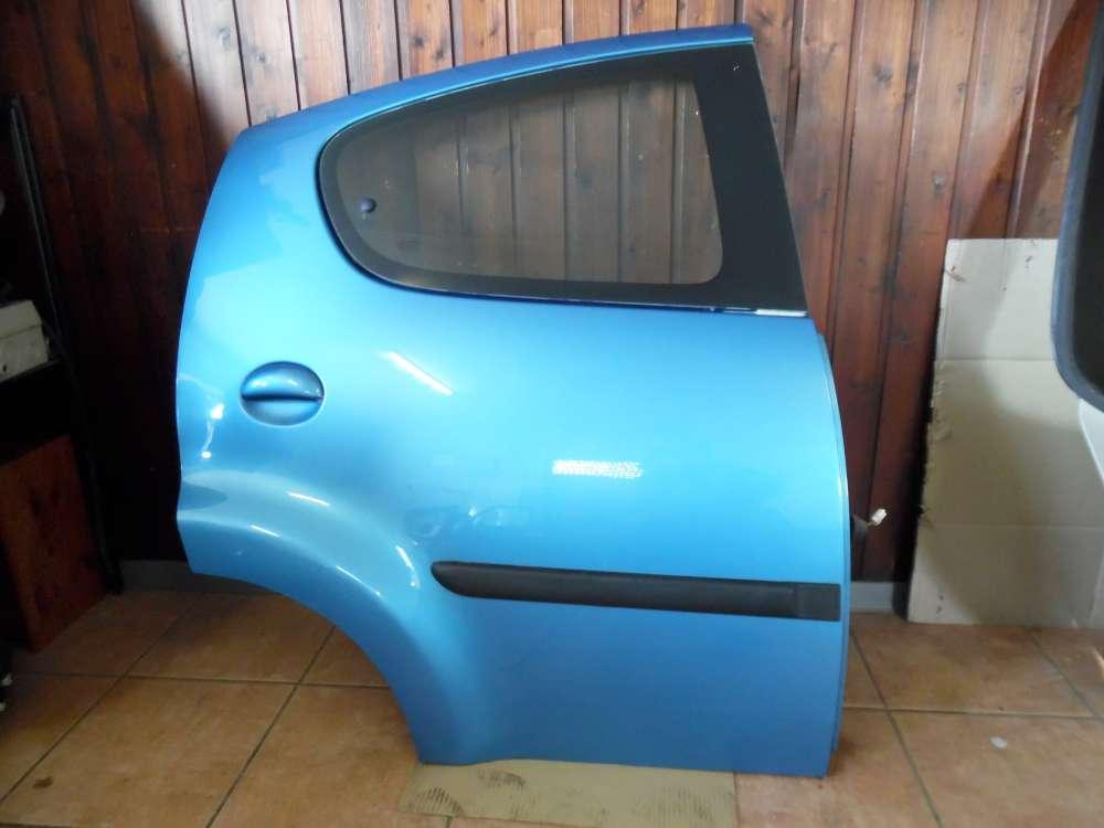 Peugeot 107 Tür Hinten Rechts Blau