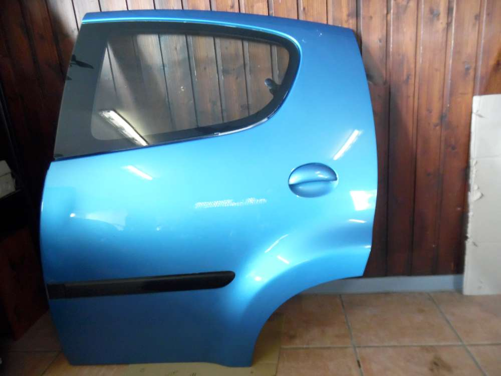 Peugeot 107 Tür Hinten Links Blau