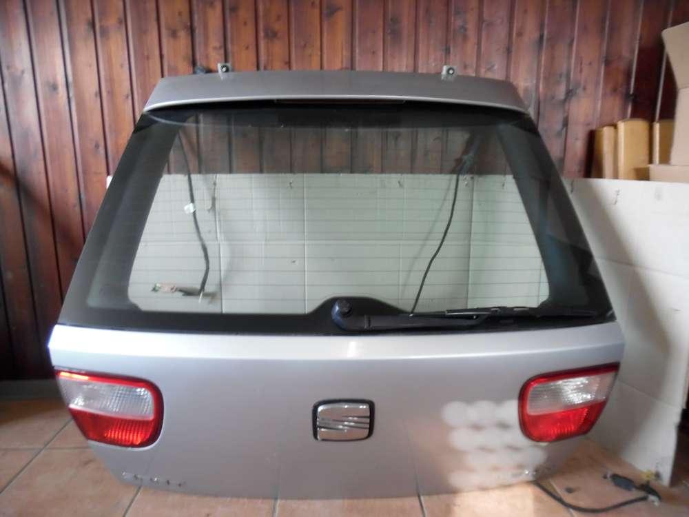 Seat Leon 1M Kofferraumklappe Heckklappe silber