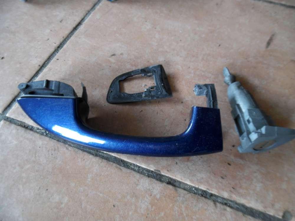 VW Golf 6 VI Türgriff Griff Tür Vorne Links blau