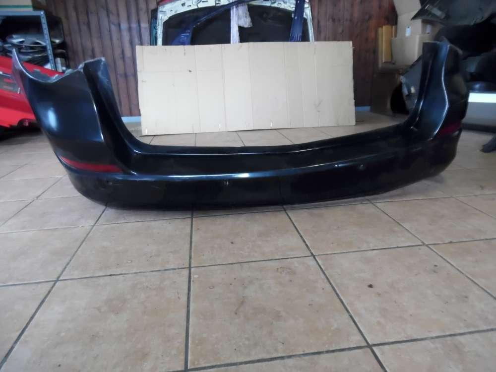 Opel Astra J Stoßstange Hinten Schwarz 13266649