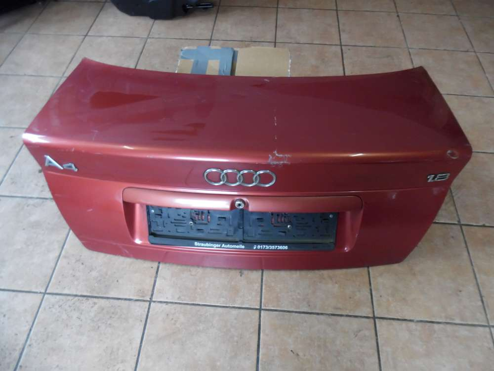 Audi A4 5B Kofferraumklappe Heckklappe Heckdeckel  Farbcod: Laserrot LY3H