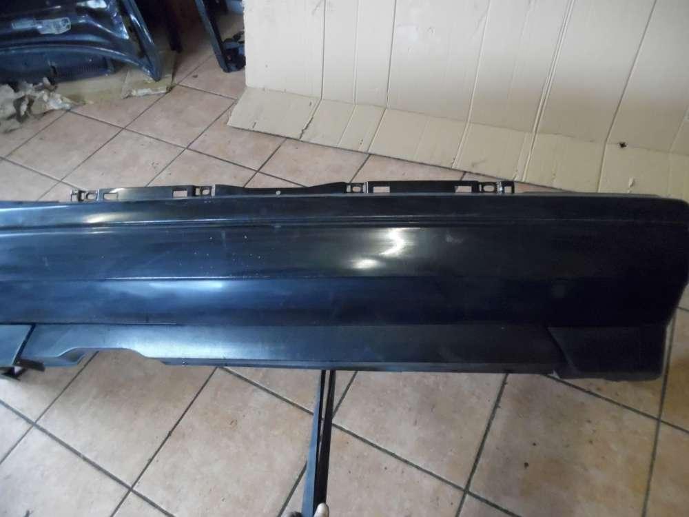 VW Golf 3 Stoßstange Hinten schwarz 1H6807417