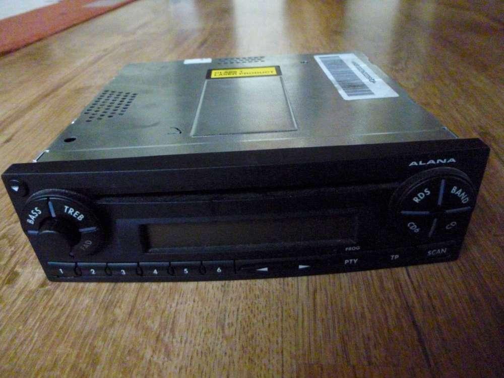 Seat Ibiza Bj.05 Original CD-Radio Radio ALANA 6L0035156B 9184288351 021885